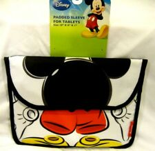 "Disney Mickey Mouse 10"" L x 8""W x 1"" D Laptop Tablet Device Padded Sleeve-New!2"