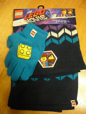 The Lego Movie 2 Boys Hat Glove and Scarf Set, one size fits most, brand new