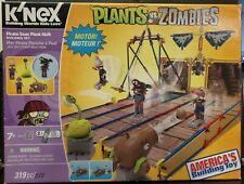 K'NEX Plants vs Zombies Pirate Seas Plant Walk 319 Pc Motorized New Building Toy