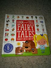 Look and Tell Fairy Tales by Rosie Greening (Board book, 2016)