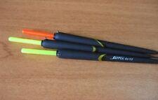 3 GALLEGGIANTI SARFIX 4X10 CON ASTINA IN CARBONIO PESCA CANNA FISSA - 28S