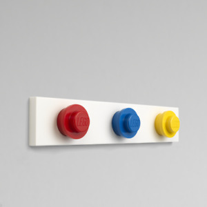 LEGO® Wall Hanger Rack - Red, Blue & Yellow