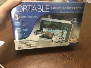 Portable Picture and Video player