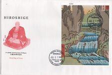 Micronesia FDC 1998 Hiroshige 200th Anniversary Japanese Artist 5 Covers  