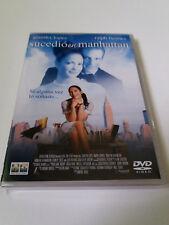 """DVD """"SUCEDIO EN MANHATTAN"""" WAYNE WANG JENNIFER LOPEZ RALPH FIENNES"""