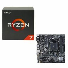 AMD Ryzen 1700X, ASUS Prime A320M-K CPU/Motherboard Bundle Set