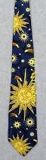SUN, STARS & COMETS--SPACE ASTRONOMY SCIENCE Smithsonian Silk Necktie NEW! RARE!
