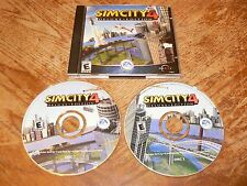 SimCity 4 Deluxe Edition PC 2 CD-ROMs Electronic Arts Maxis 2003 Sim City Win.XP