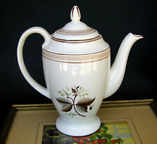 Bristol Pountney & Co Pottery England c.1945-1957 Upright Coffee Pot With Lid