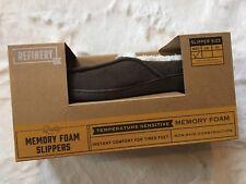 Refinery Memory Foam Slippers Size M
