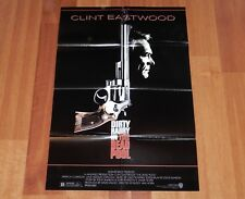 ORIGINAL MOVIE POSTER THE DEAD POOL 1988 FOLDED ONE SHEET DIRTY HARRY EASTWOOD