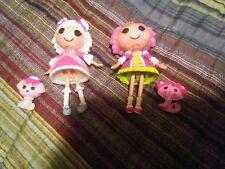 Lalaloopsy Suzette La Sweet & Jewel Sparkles mini dolls lot