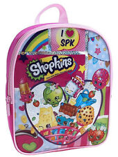 "Shopkins Mini Pink 11"" Backpack Kids Girls Toddler SchoolBag Preschool SPK Purse"