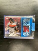 2018 Topps Series 2 Giancarlo Stanton Longball Legends Relics SICK Patch RED /25