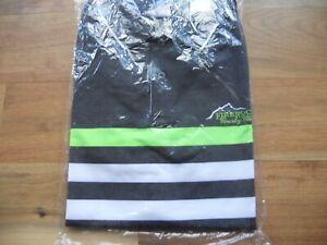 NWT Ralph Lauren RLX Golf Shirt Polo Gray/Green/White FireRock CC Size M