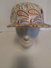 Ladie's G-Unit Hat-ivory/paisley-Size 7 3/8-NWT-Free Shipping