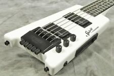 Steinberger Spirit XT-25 White 5 string Headless Electric Bass
