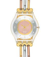 Swatch Skin Tri Gold SFK240A Bandlänge Large Neuware