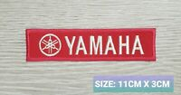 Yamaha team Biker Motor logo Embroidered Iron On/Sew On Patch Badge