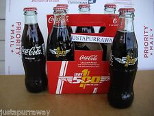 One 2016 Indy Indianapolis 500 Coca-Cola Full Bottle Coke