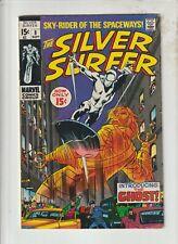 SILVER SURFER #8  FN/VF ORIGIN & 1ST GHOST / MEPHISTO /SHALLA BAL  1969
