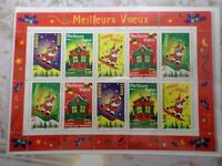 FRANCE 1998 BLOC timbres 21, MEILLEURS VOEUX PERE NOEL, neuf**, MNH