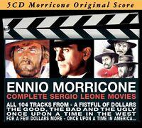 ENNIO OST/MORRICONE - COMPLETE SERGIO LEONE MOVIES 5 CD NEU MORRICONE,ENNIO