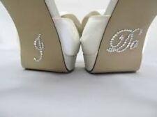 I DO Diamante Clear Crystal Wedding Shoe Sticker Applique Rhinestone