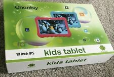 "Chanbly 10"" IPS Kids Tablet Dual Camera 16GB Dual SIM 4 Core 1.3GHZ Pink"