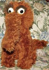 Vintage Snuffy Snuffleupagus Stuffed Animal Sesame Street Knickerbocker Plush