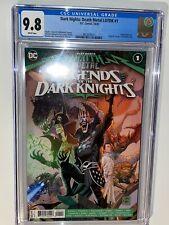 DARK NIGHTS DEATH METAL LEGENDS OF THE DARK KNIGHTS #1 (DC, 2020) CGC 9.8