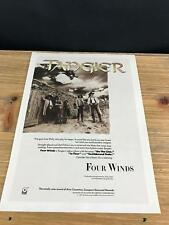 1989 Vintage 8X11 Album Promo Print Ad For Tangier Four Winds 5 Guys From Philly