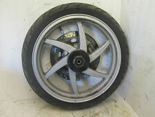 HYOSUNG GT COMET 125 2003 FRONT WHEEL RIM WITH DISC (47B)