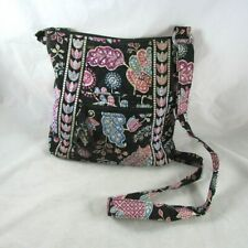 Vera Bradley Quilted Cross Body Purse in Alpine Floral Retired Print