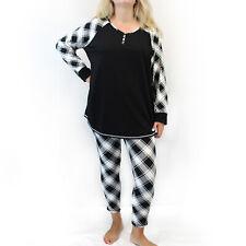 Cacique by Lane Bryant Plus Black Christmas Pajamas Size 18/20