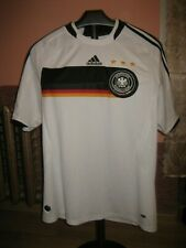 Germany(Deutchland) Football National Team Adidas Home 2007/08 Jersey/Shirt L