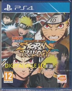 Naruto Shippuden Ultimate Ninja Storm Trilogy PS4 Brand New Factory Sealed