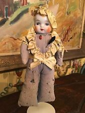 Antique American China Doll Sewing Clothing Handmade early 1900's