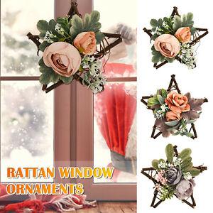 Artificial Flower Wreath Door Hanging Wall Window Wedding Home Garden Decor