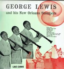 GEORGE LEWIS And HIS NEW ORLEANS STOMPERS LP VOGUE LAE 12005