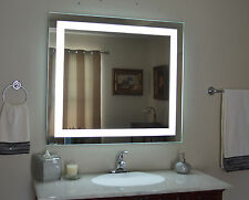 """Lighted bathroom vanity mirror, led , wall mounted, 48"""" Wide x 36"""" Tall MAM84836"""