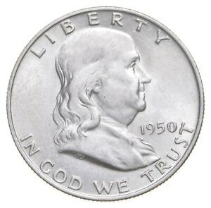 1950-D Franklin Half Dollar - Walker Coin Collection *623