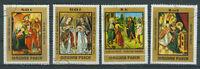 Briefmarken Ungarn 1973 Gemälde unbekannter Meister Mi.Nr.2907-10