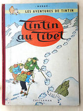 BD TINTIN AU TIBET - EO FRANCAISE - 1960 B29 - cahier NEUF - COTE 400 E (X1GA47)
