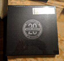 New West Records 20th Anniversary, 180 gram 6xLP RED  Vinyl Box Set, NEW!!