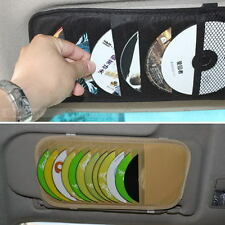 New Car Sunshade Sun Visor CD DVD 12 Disk Card Holder Case Bag Storage