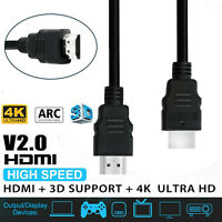 High Speed Premium HDMI Cable v2.0 Ultra Ethernet HD 4K 2160p 1080p 3D HEC 1.5M