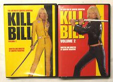 Kill Bill - Volumes 1 & 2 (Both Movies - Uma Thurman ) Dvd English