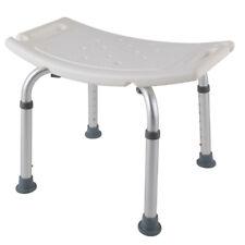 Duschstuhl 7 Fach verstellbar Badhocker Badestuhl Duschhocker Duschhilfe Quadrat