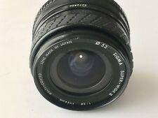 Minolta MD Fit - Sigma 24mm F2.8 Super Wide Angle Manual Focus Lens